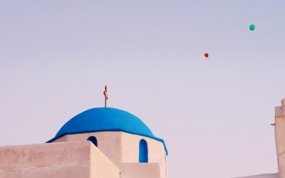 Picturesque Chapels in Paros island