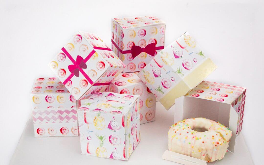 DIY Handmade Favor Boxes