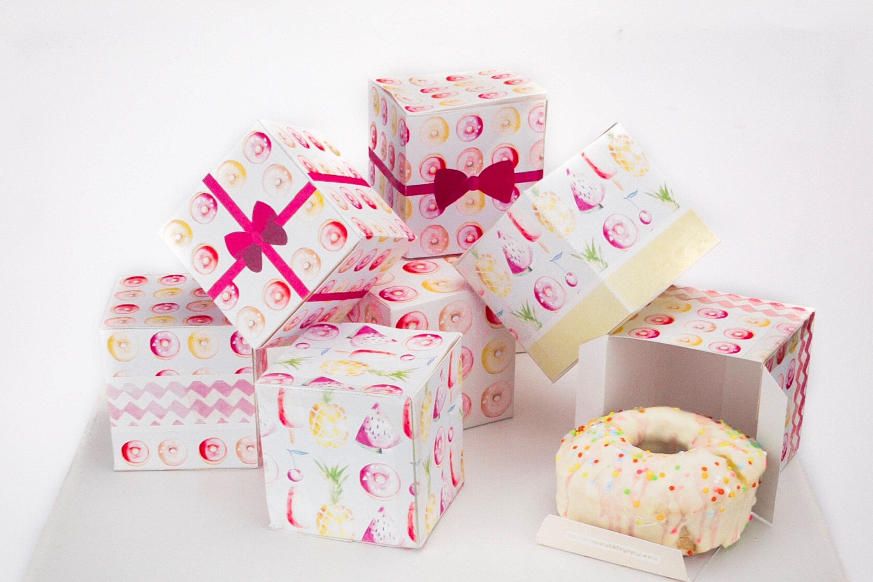 DIY Handmade Favor Boxes