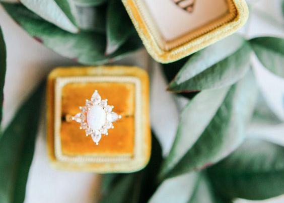 engagement ring unique