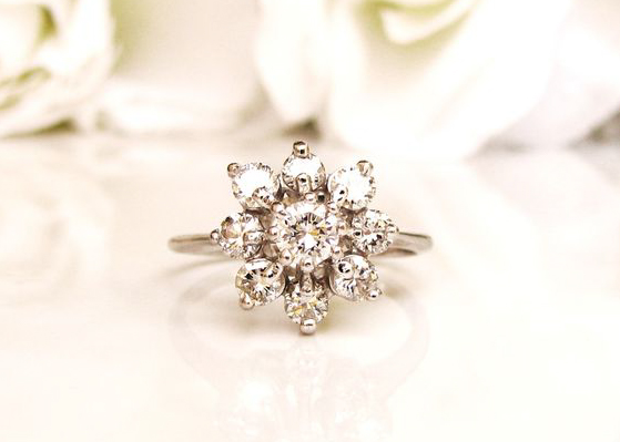 engagement ring cluster