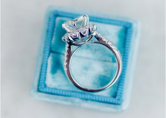engagement ring cathedral