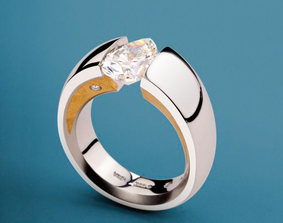 engagement ring tension