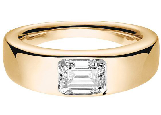 engagement ring flush