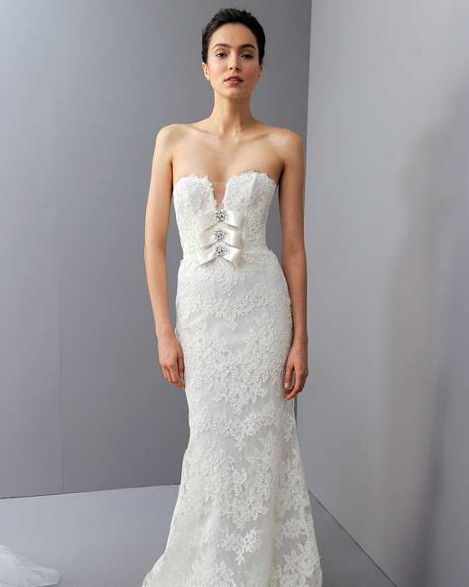 amsalevwedding dress fall2018 alencon lace