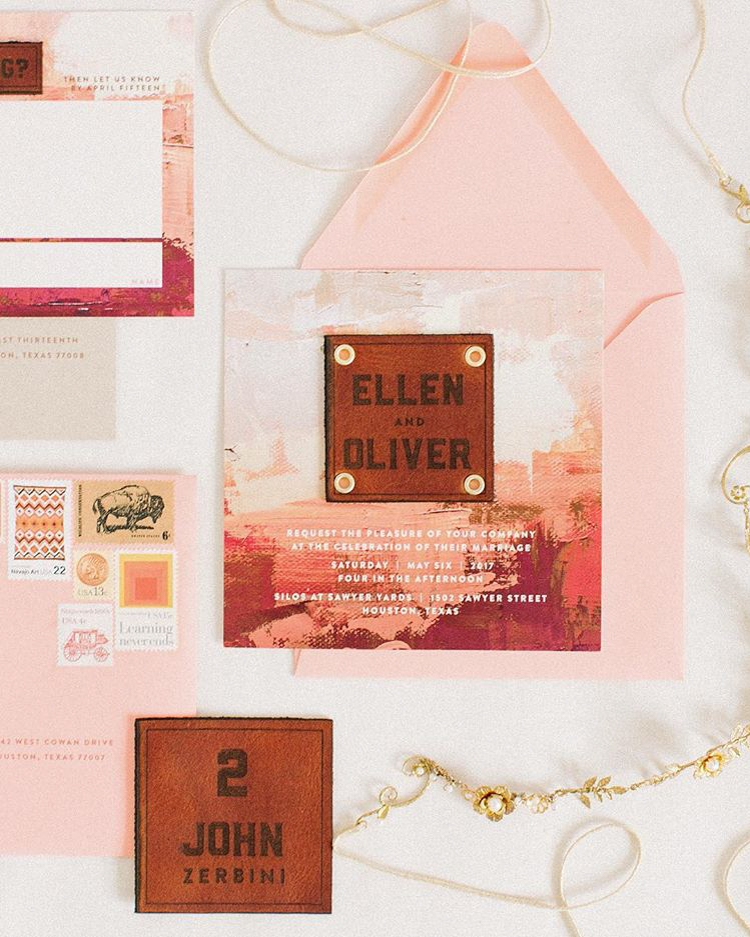 Trending Wedding Invitations: The Most Beautiful Wedding Invitation Trends For 2018