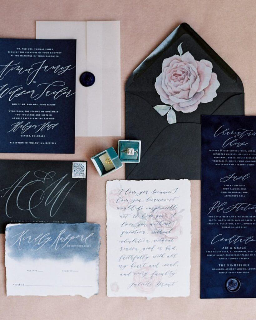 JOLIE COMPANY INVITATION TREND DARK