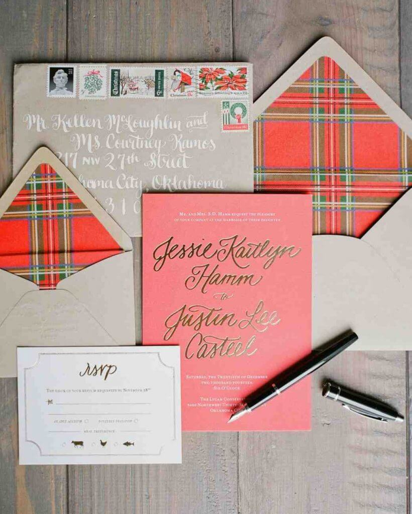 LIONHEART WEDDING INVITATION TREND