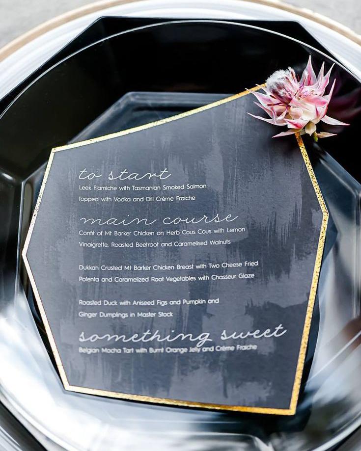 secret diary shape shift wedding invitaion trend