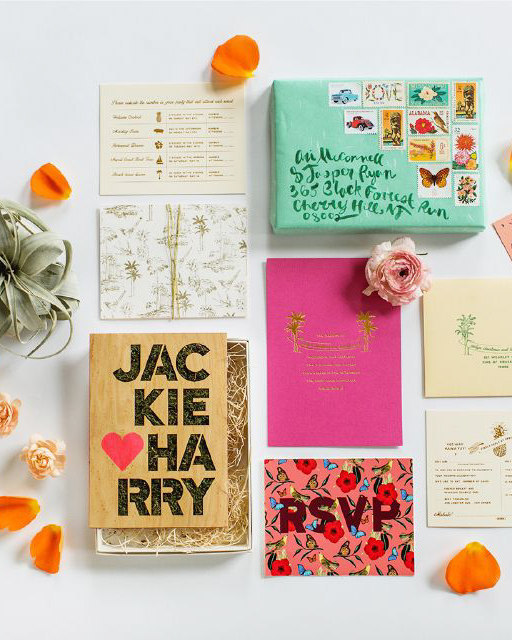 SHINDIG BESPOKE LASERCUT WEDDING INVITATION TREND
