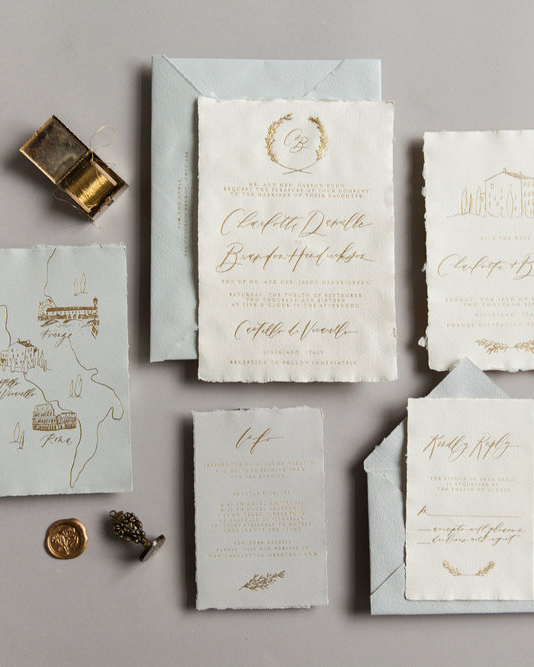 WRITTEN WORD CALLIGRAPHY INVITATION TREND