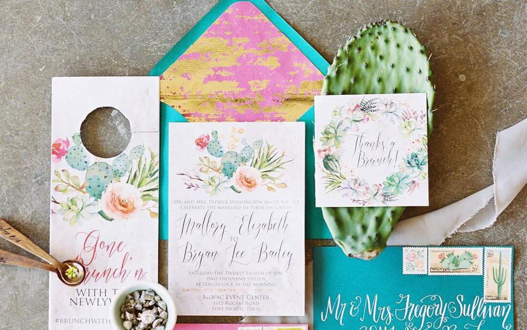 The Most Beautiful Wedding Invitation Trends For 2018