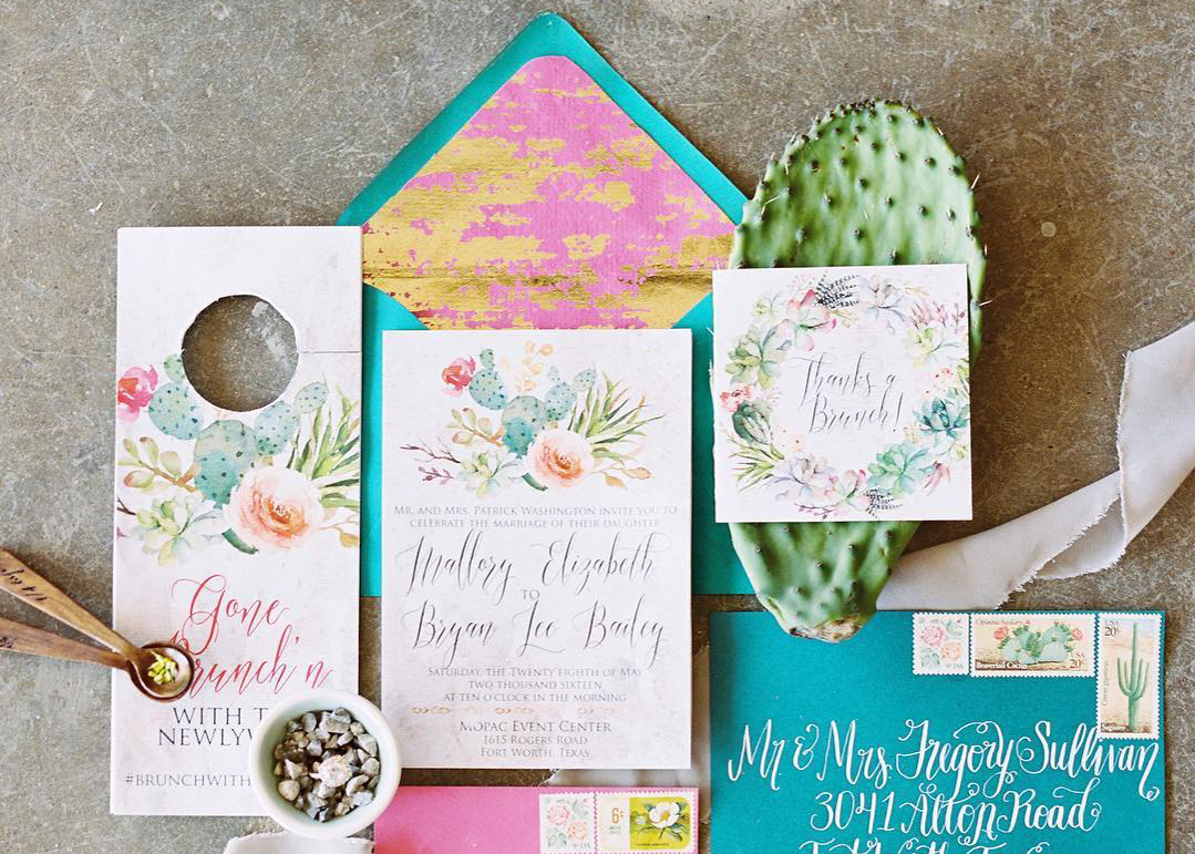 Gorgeous Wedding Invitations: The Most Beautiful Wedding Invitation Trends For 2018