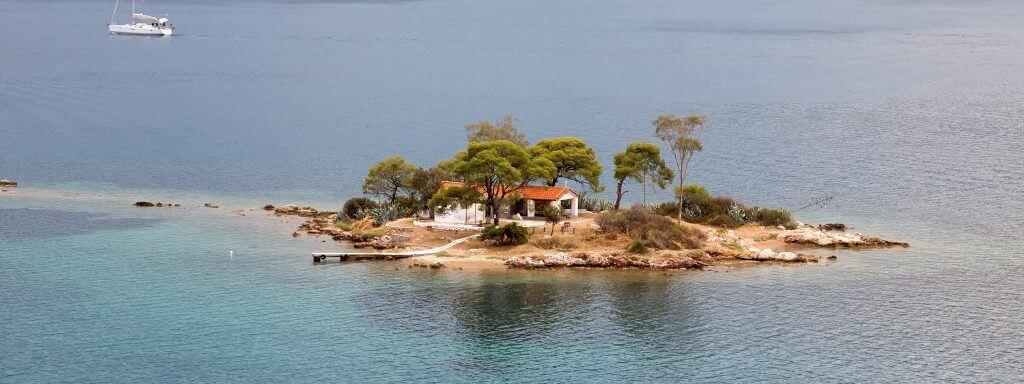 Poros island Greek Wedding Destination