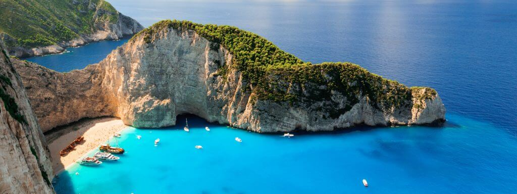 Zante Island Greek Wedding Destination