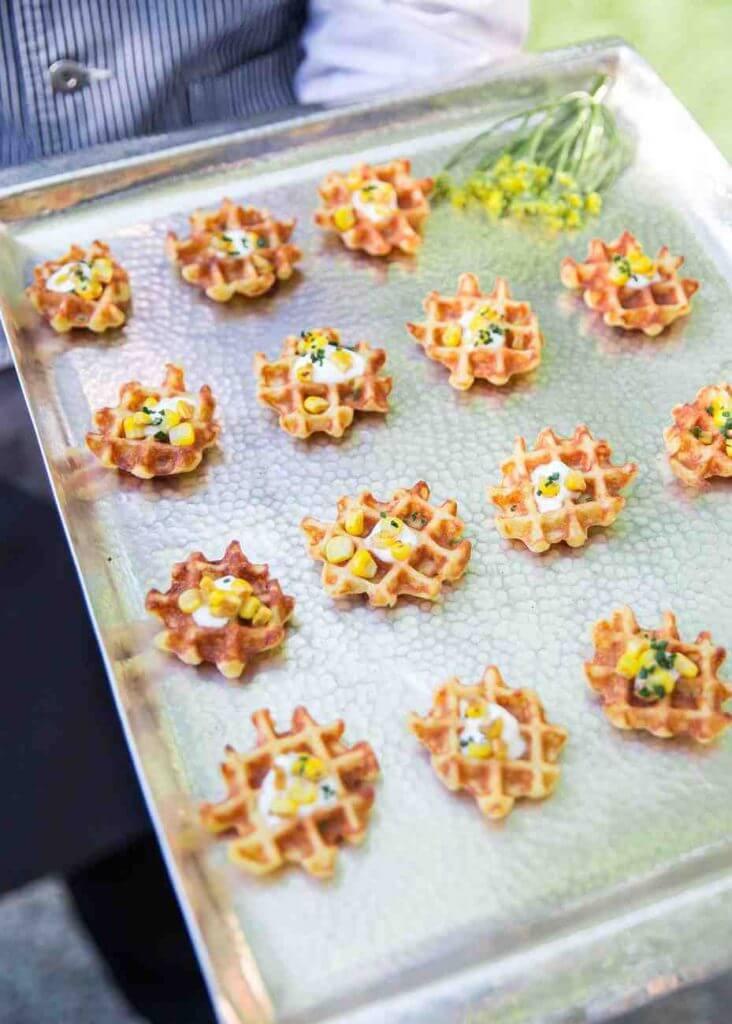 waffle serve idea for weddings