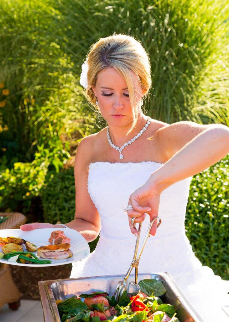Maritius wedding tradition bride eat well