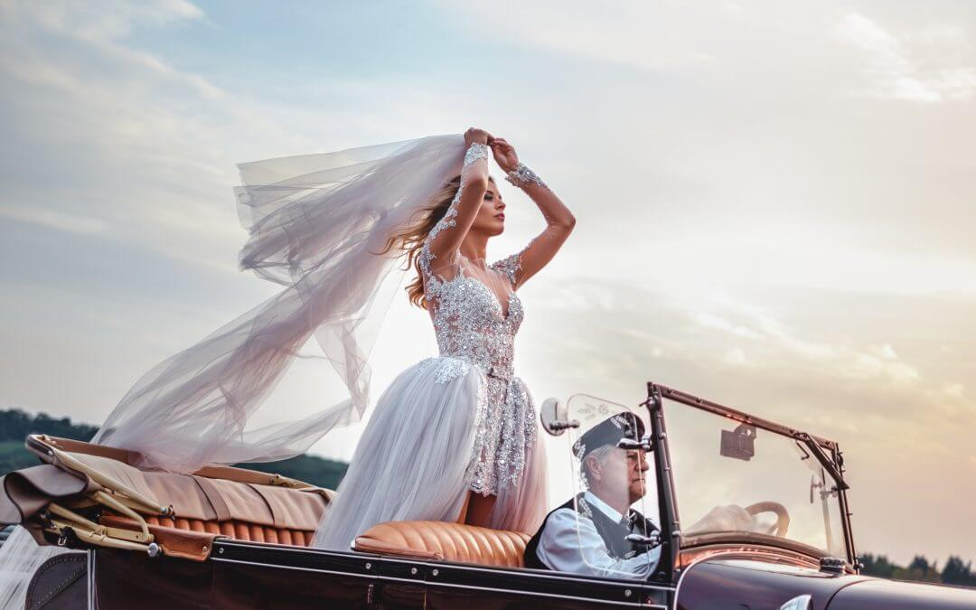 14 Truly Tempting Wedding Transport Ideas