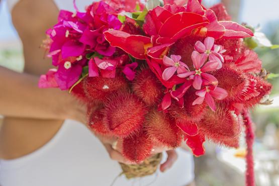 annatto Wedding decoration idea greece