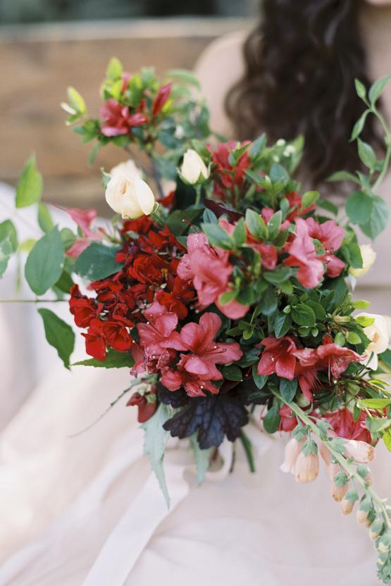 bougainvillea Wedding decoration idea greece