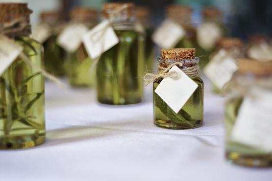 herbs Wedding decoration idea greece