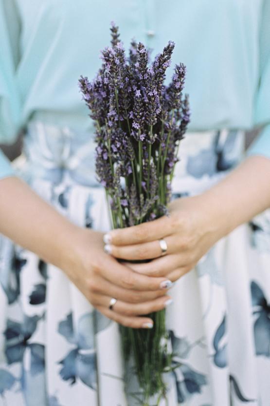 lavender Wedding decoration idea greece