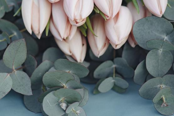 tulip Wedding decoration idea greece