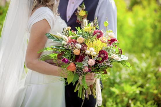 wildflowers Wedding decoration idea greece