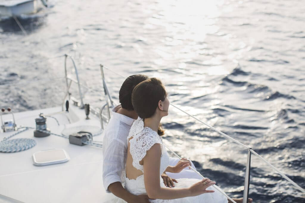 Cruisin Together Why have a Dreamy Yacht Wedding in Greece