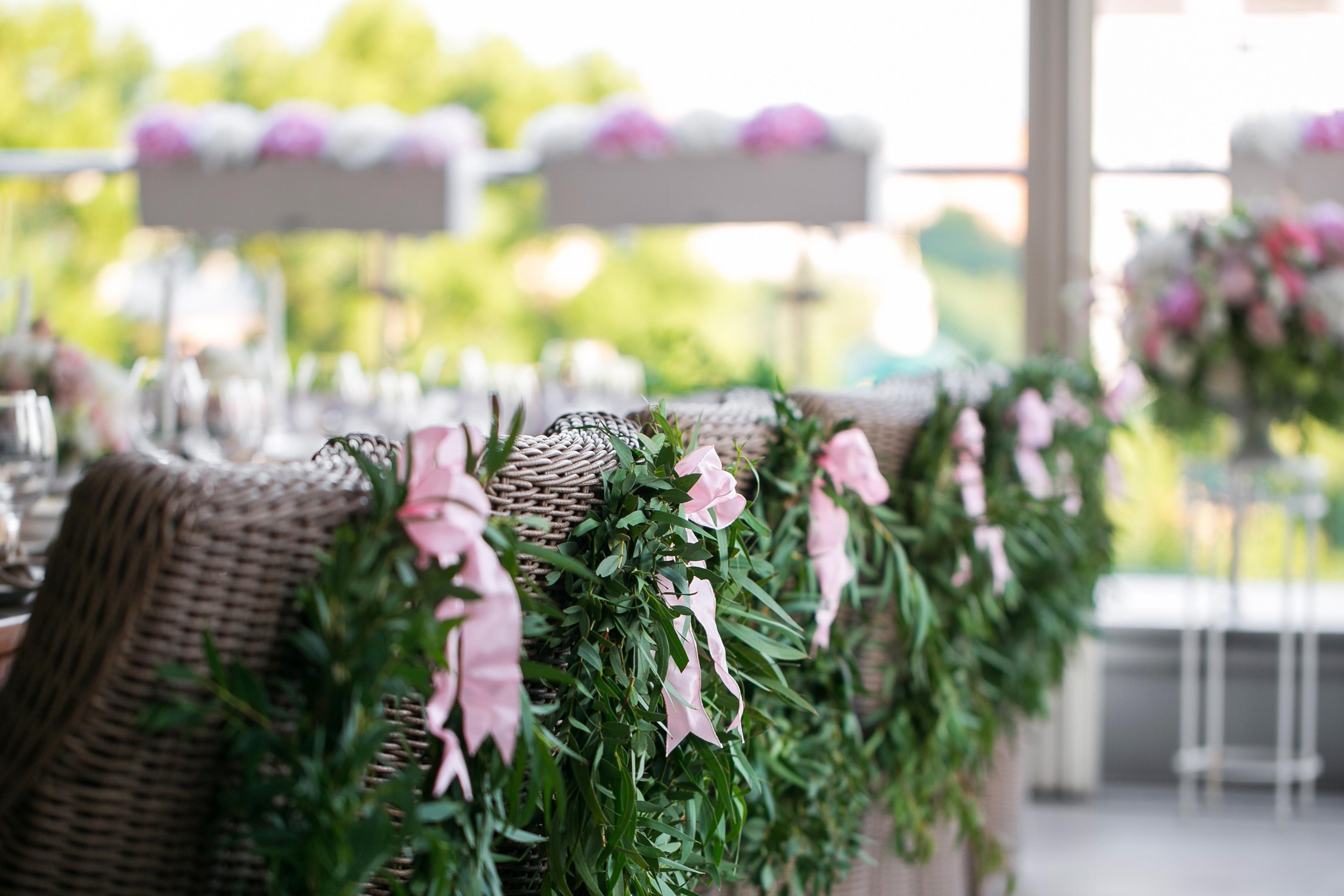 Make Happy Memories Greenery Seat Wreath