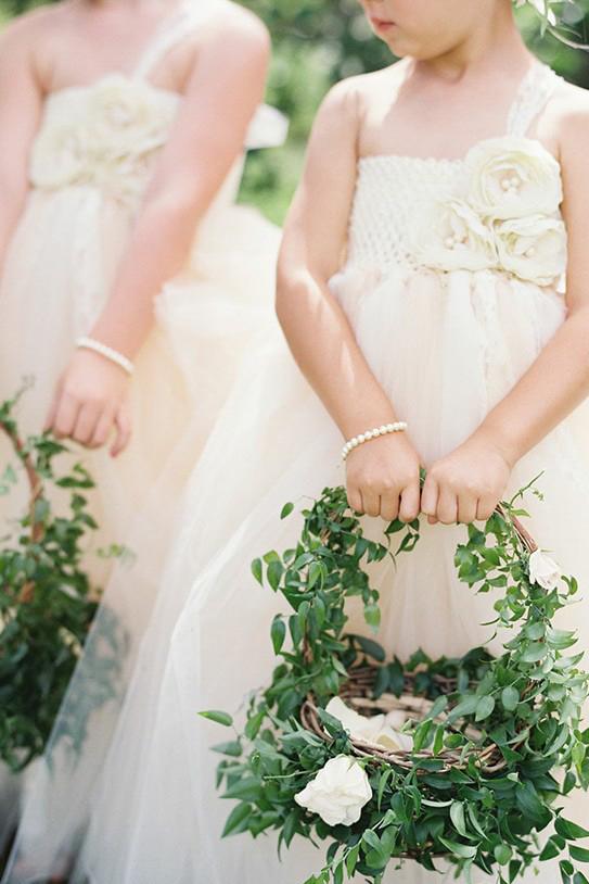 Make Happy Memories Greenery Flower Girl1