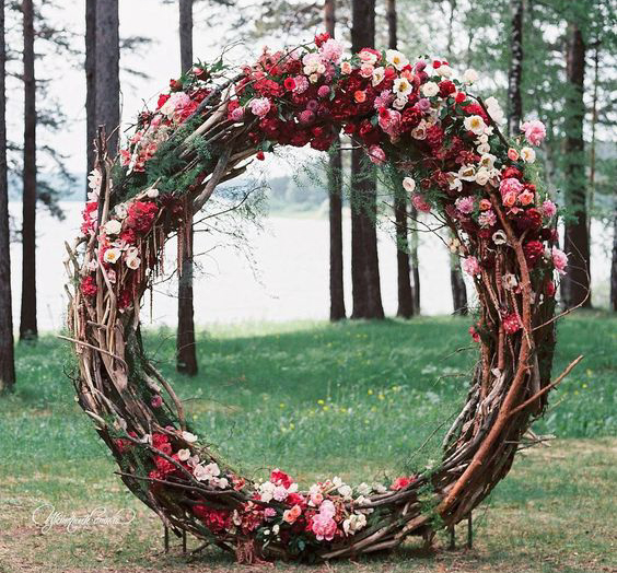 twig arch make happy memories