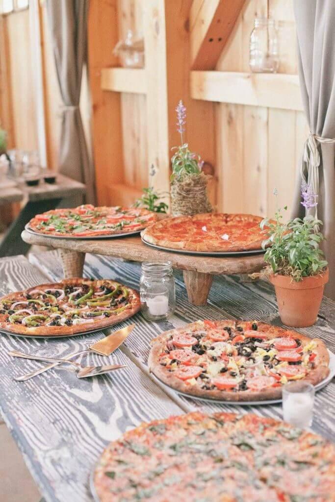 Make Happy Memories Wedding Corners Pizza