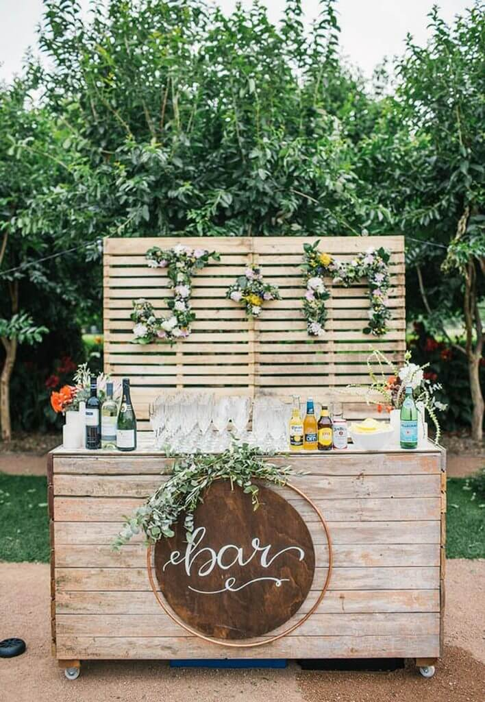 Make Happy Memories Wedding Corners DIY Drinks